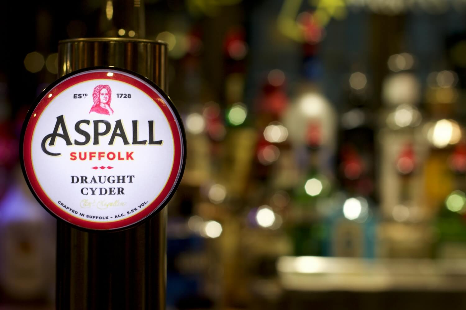 Aspall Draught Cider - The Purple Dog Pub Colchester