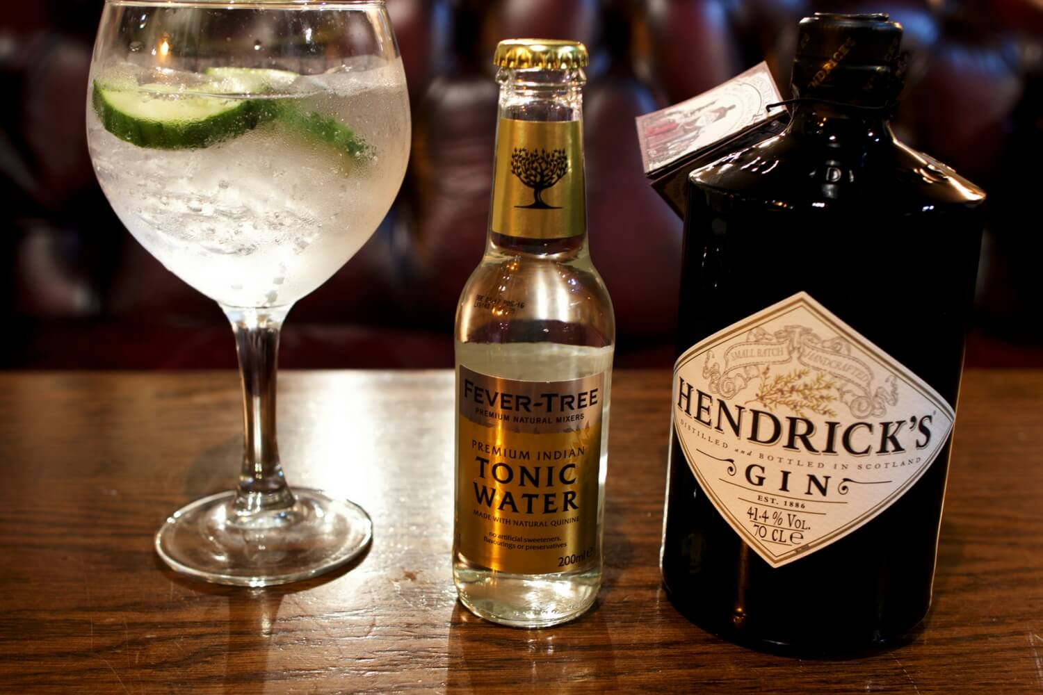 Hendrick's Gin - The Purple Dog Pub Colchester